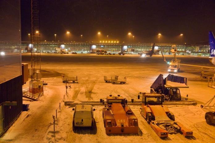 Arlanda airport, Stockholm, Sweden.
