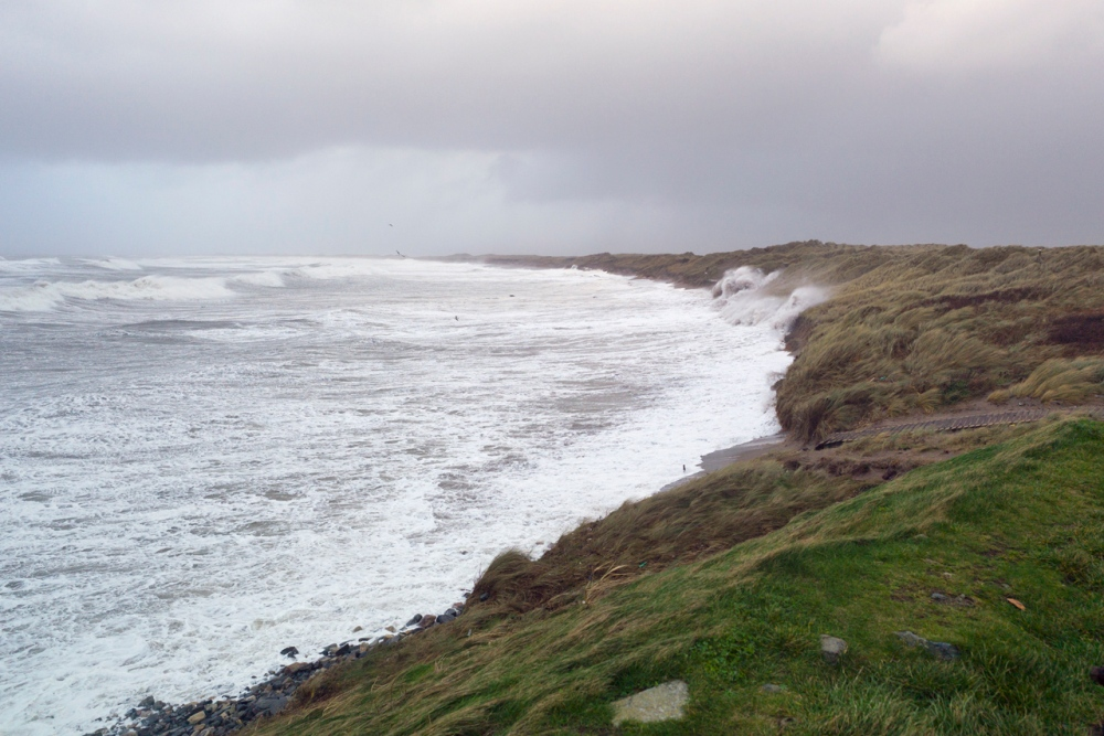Stormy Start to 2014 at Kilmore Quay (3/6)