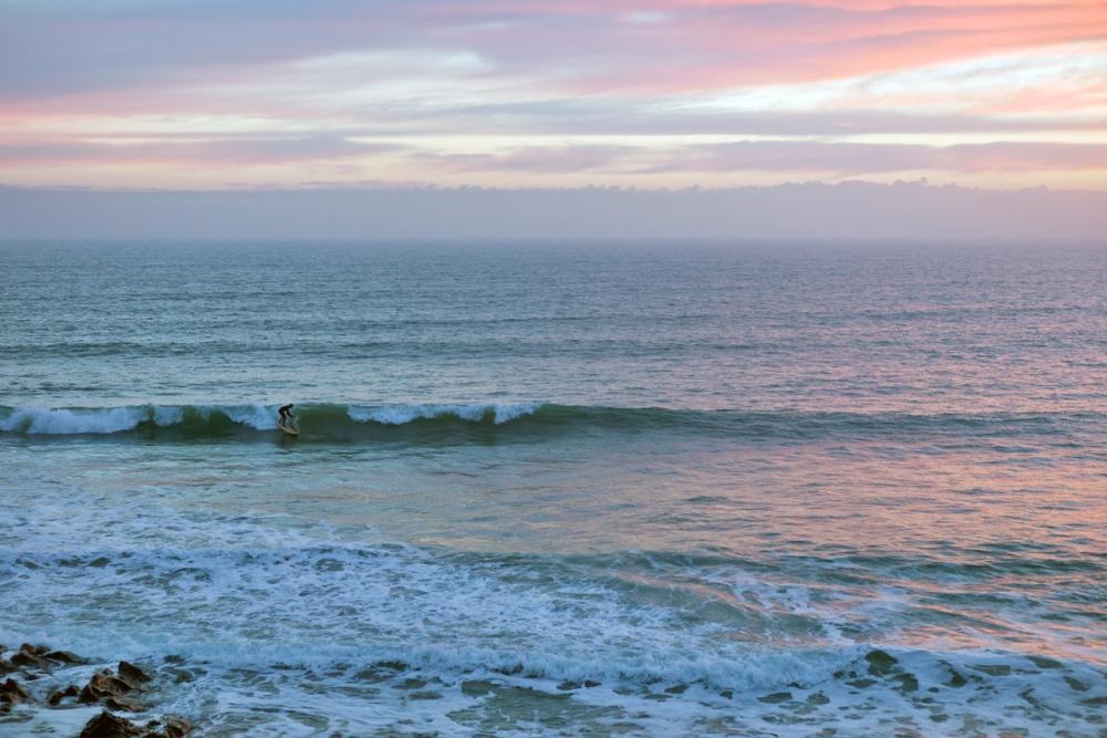 Lone Surfer at Sunset (6/6)